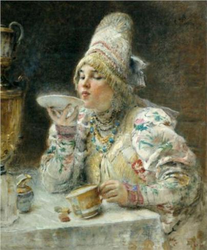 Konstantin Makovsky, 1914. Source: www.wikiart.org